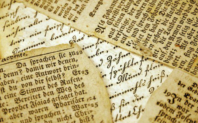 Old German Script